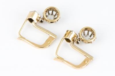 [サムネイル]ローズカットダイヤモンド ピアス