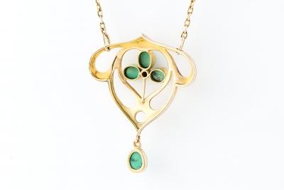 [サムネイル]トルコ石ネックレス
