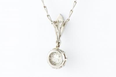 [サムネイル]一粒ダイヤネックレス
