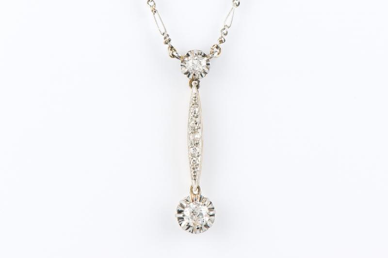 [写真]ダイヤモンドネックレス