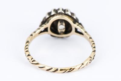 [サムネイル]ジョージアン ダイヤモンドリング