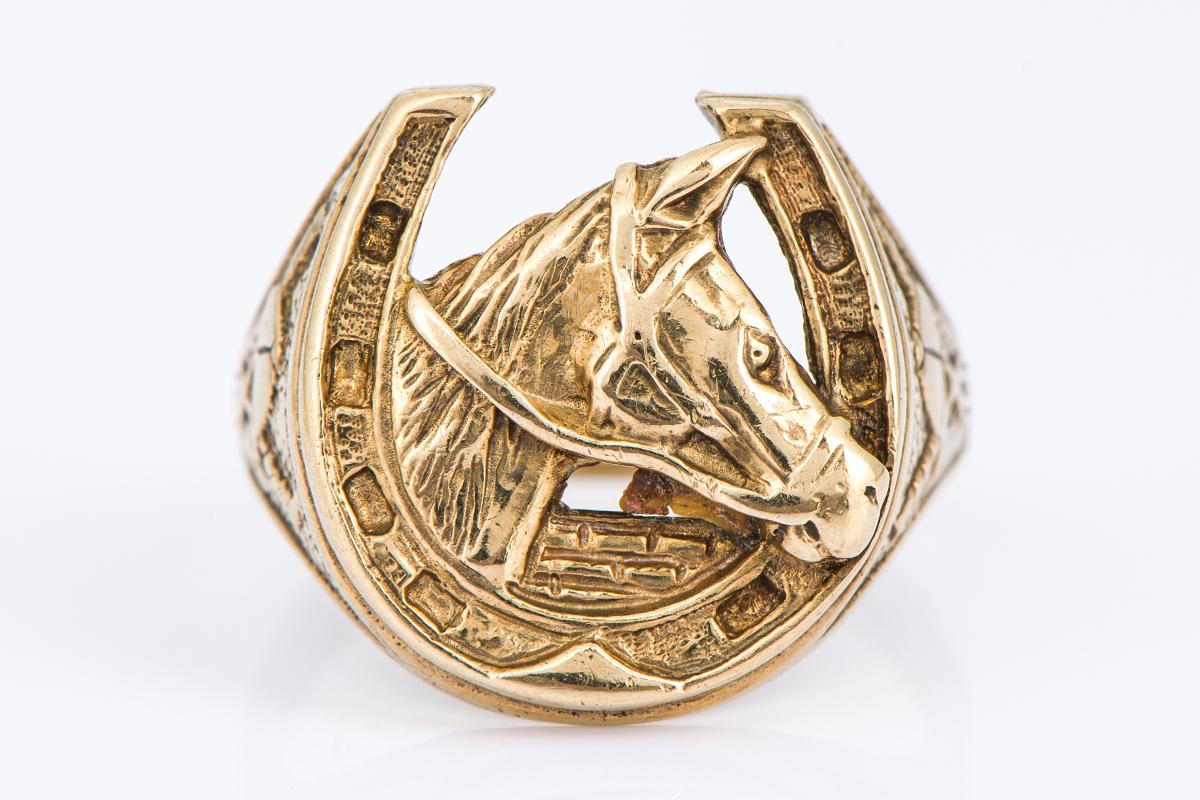 [写真]馬のリング