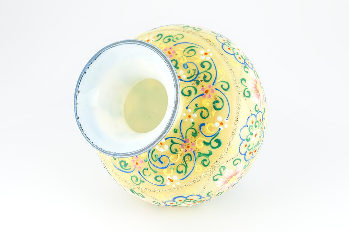 [写真]エナメル花器