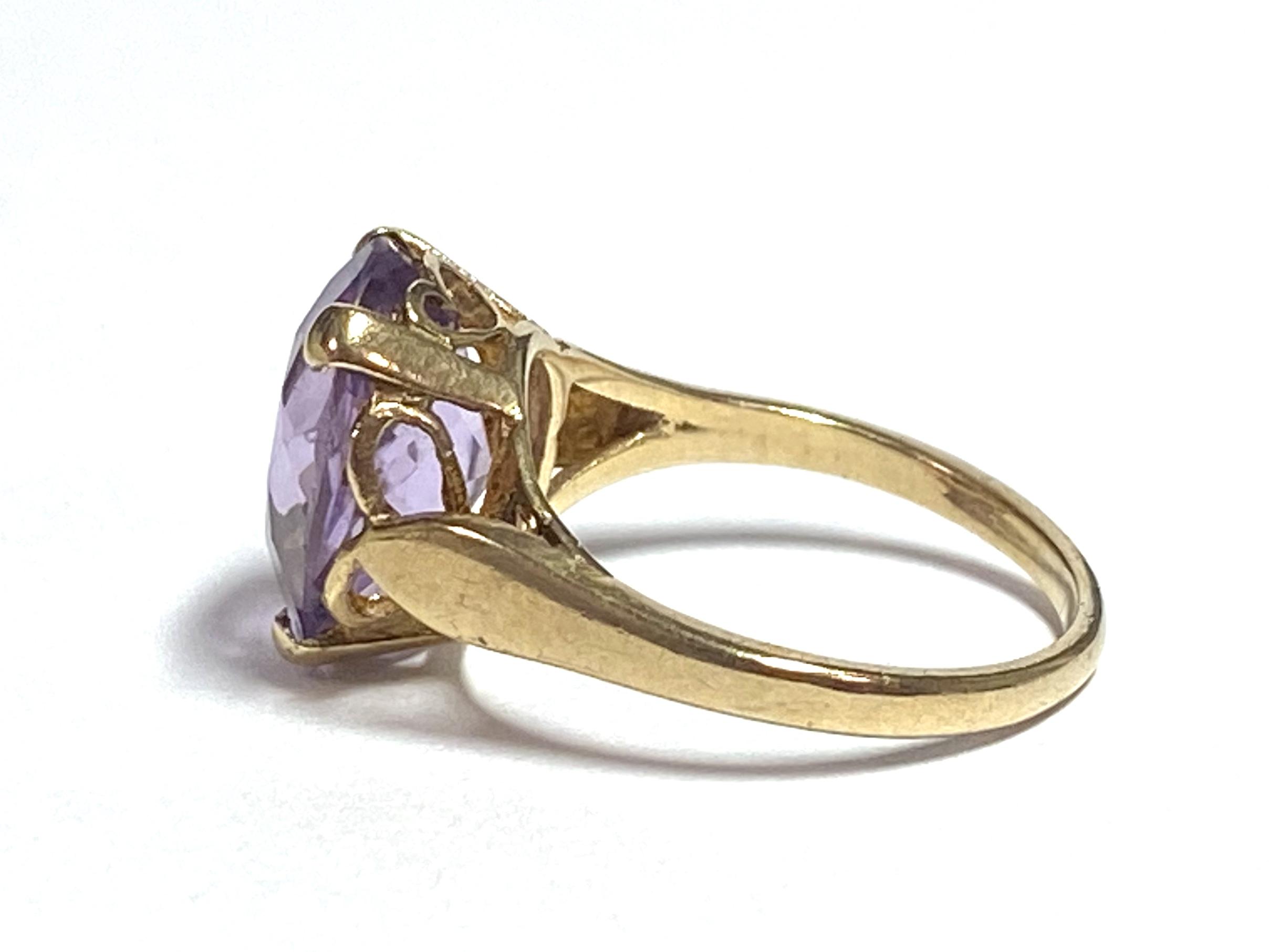 [写真]アメシストのリング