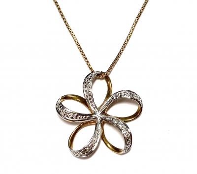 [サムネイル]花のネックレス