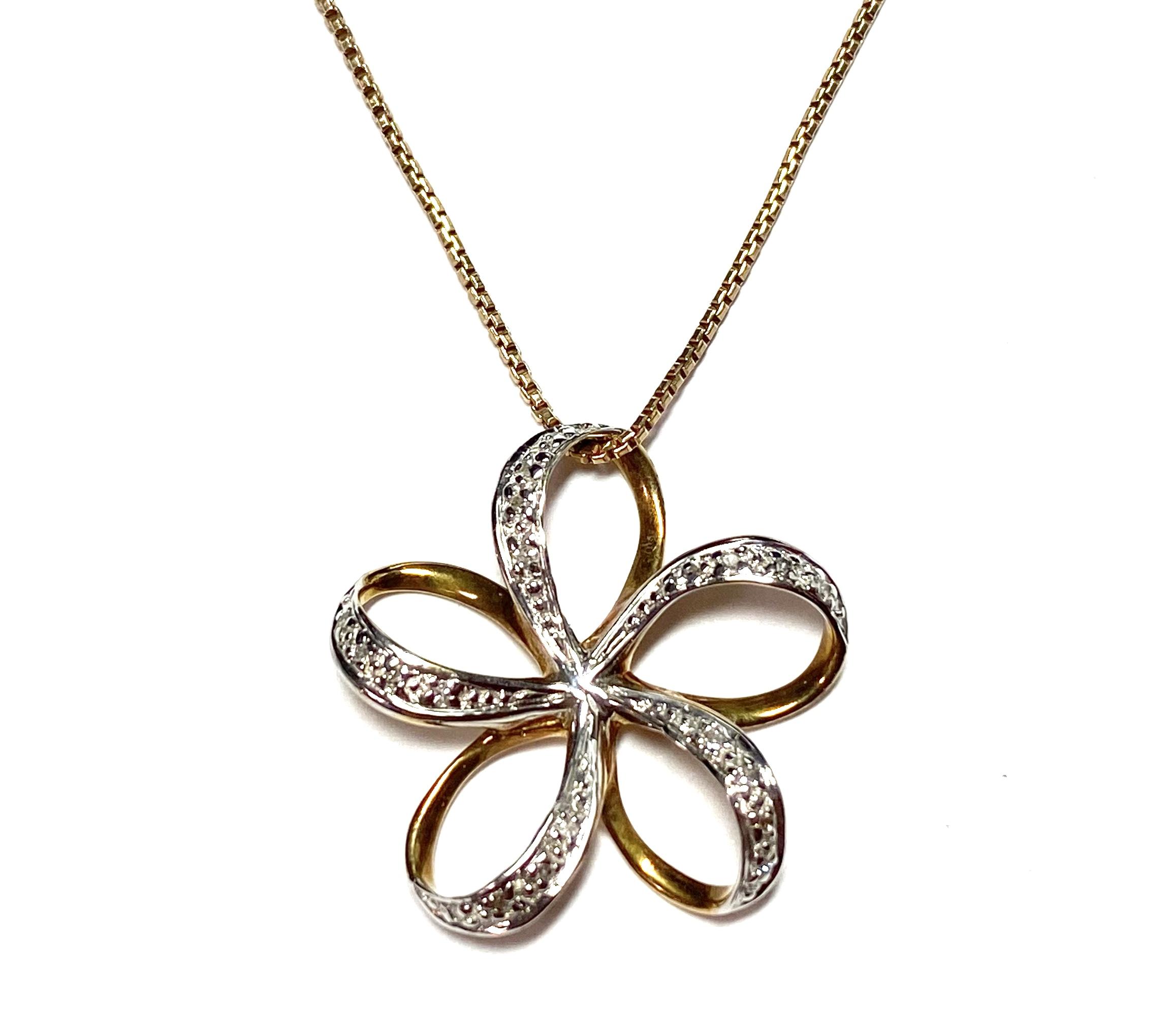 [写真]花のネックレス