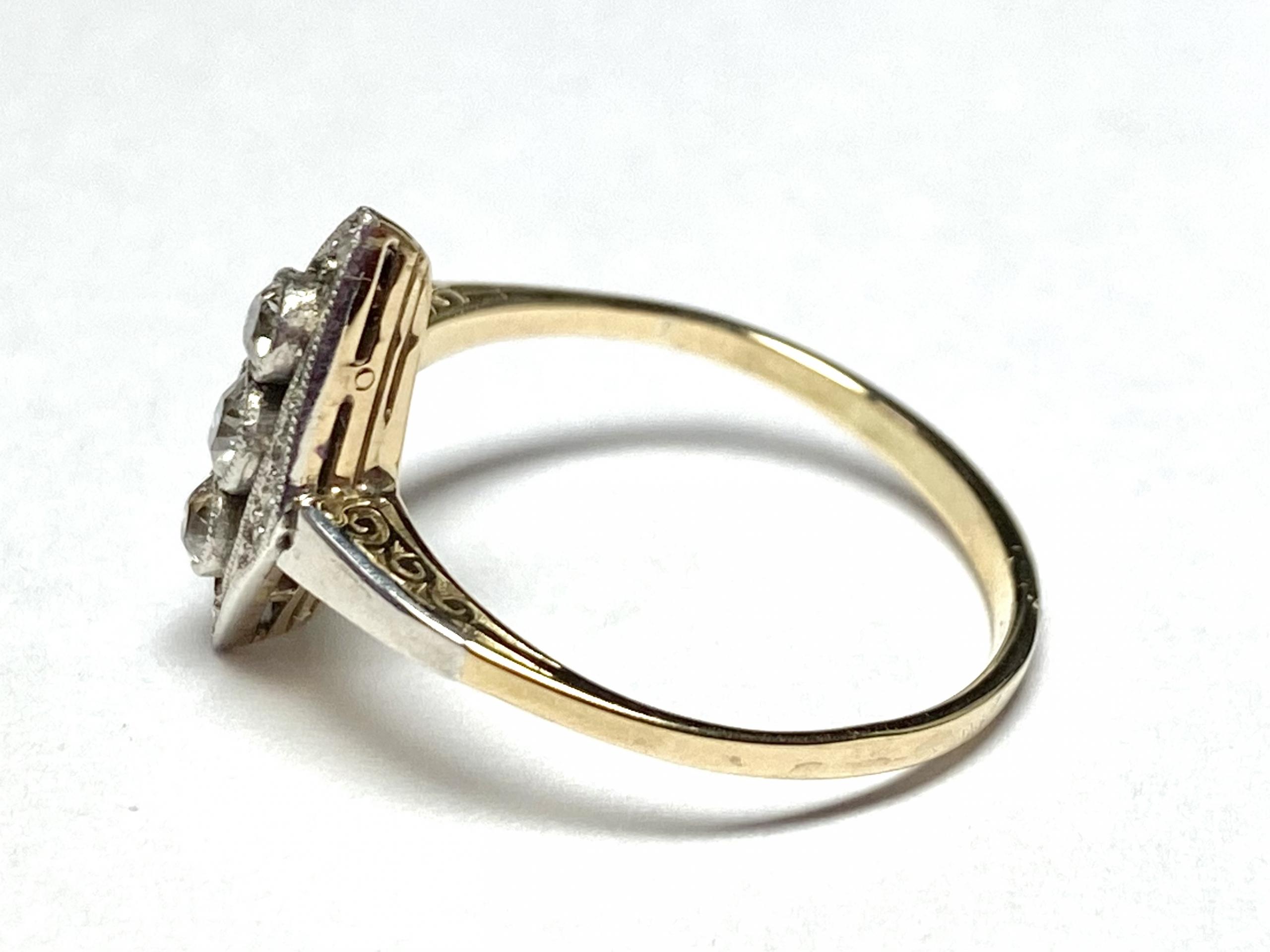 [写真]アール・デコ ダイヤモンドリング