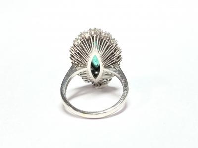[サムネイル]エメラルド&ダイヤモンド リング