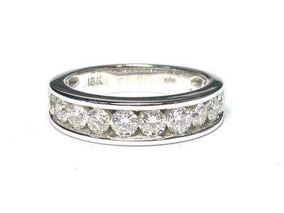 [サムネイル]一文字 ダイヤモンドリング