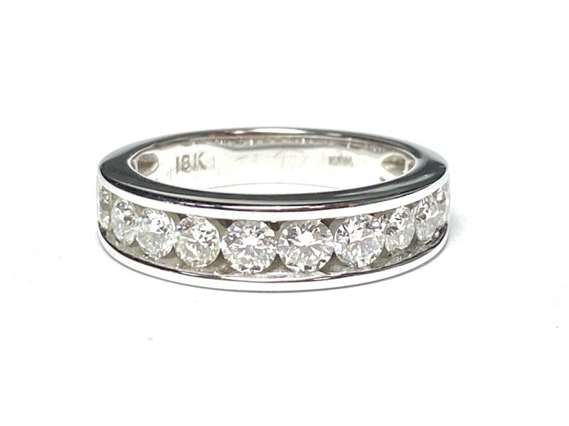 [写真]一文字 ダイヤモンドリング