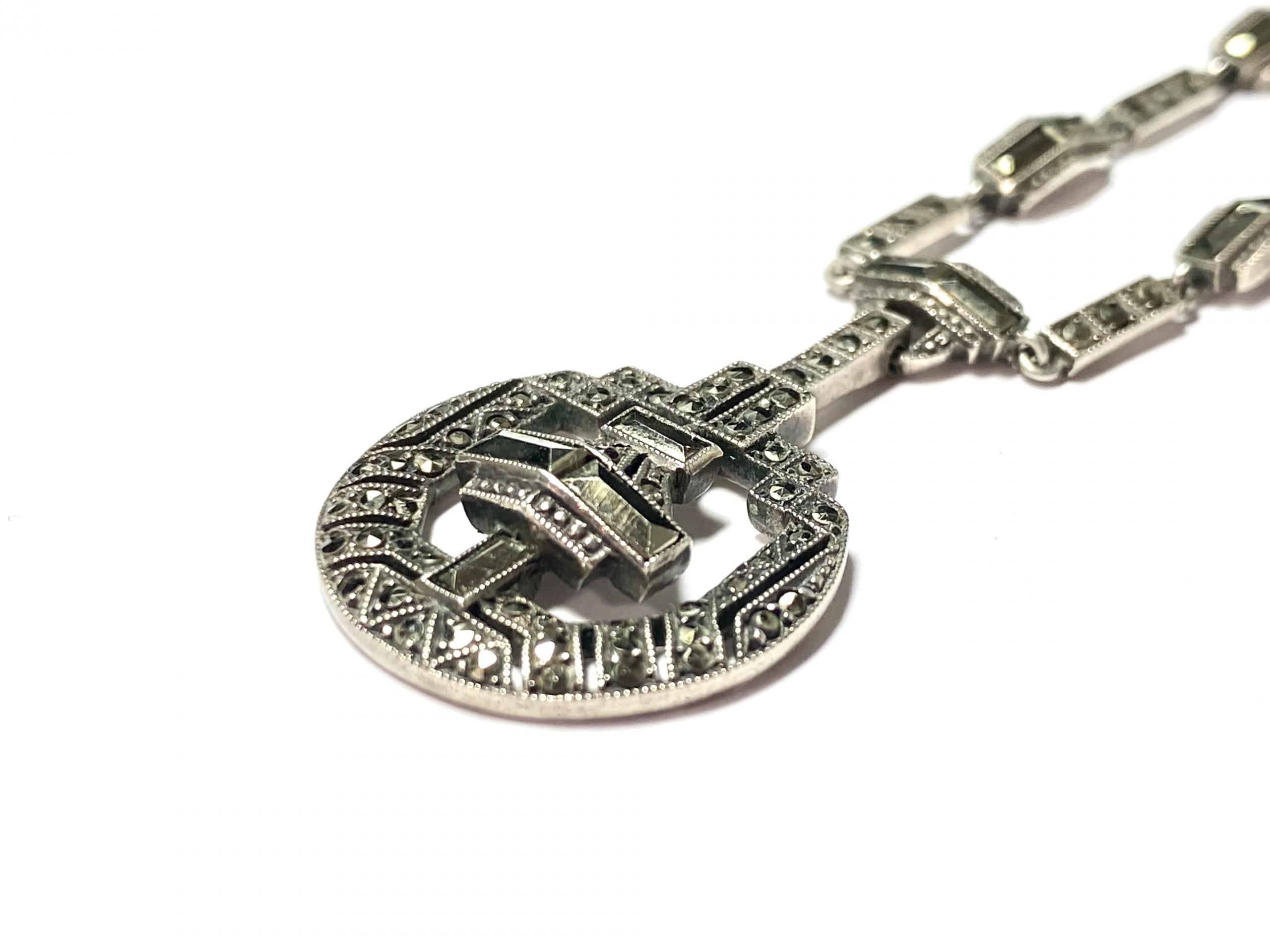 [写真]アールデコ マルカジットのネックレス